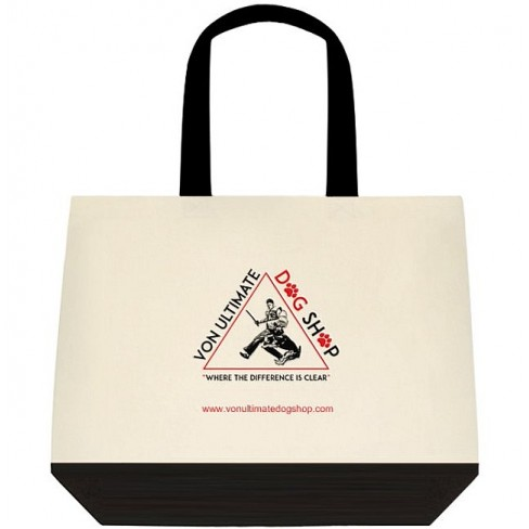 VUDS Two Tone Cotton Tote Bag