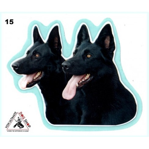 German Shepherd Working Dog Stickers - 15