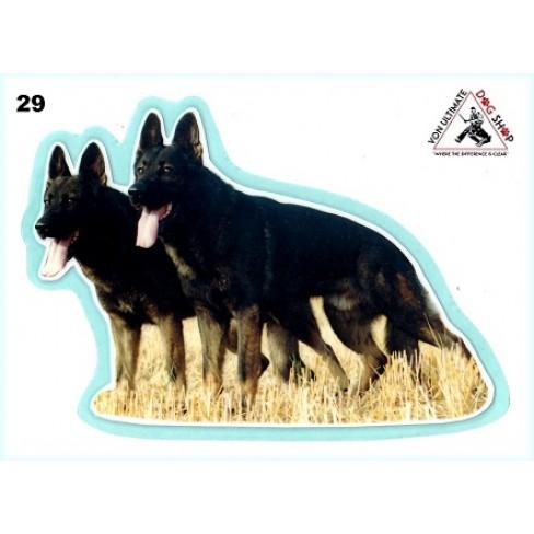 German Shepherd Working Dog Stickers - 29