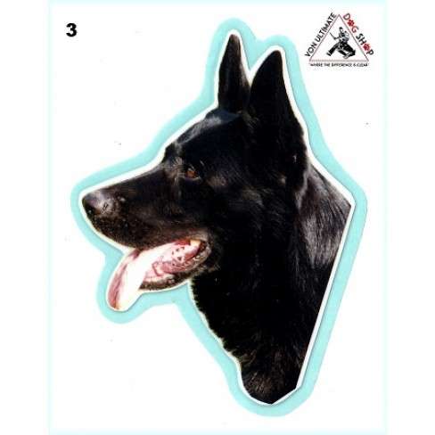 German Shepherd Working Dog Stickers - 3
